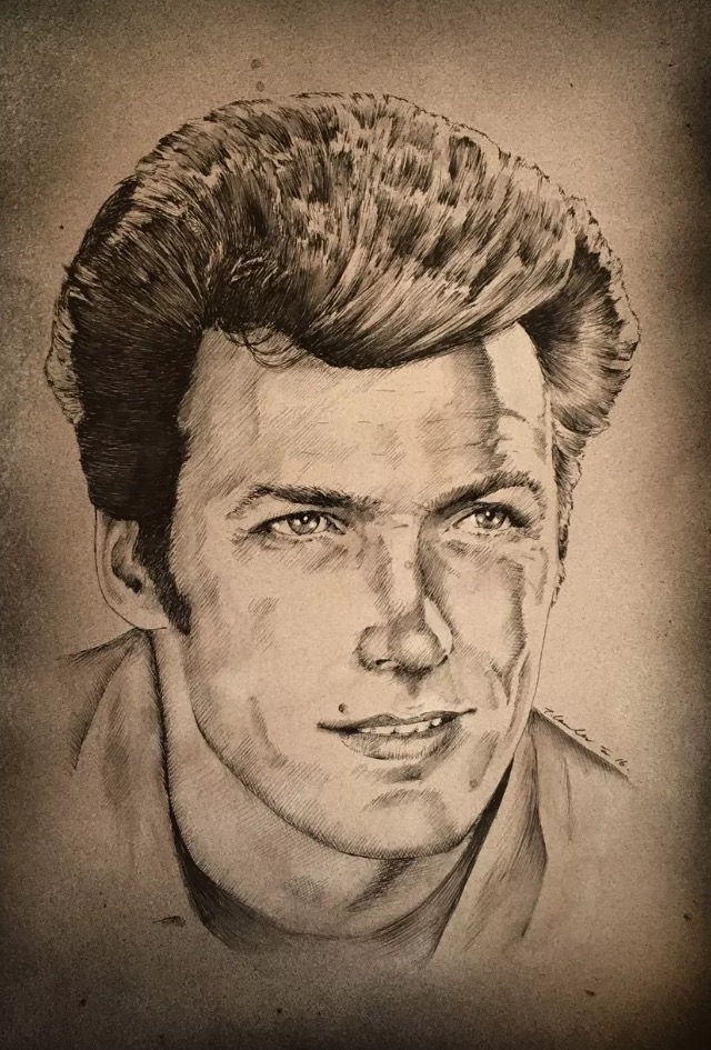 Clint Eastwood by TraceyLawler